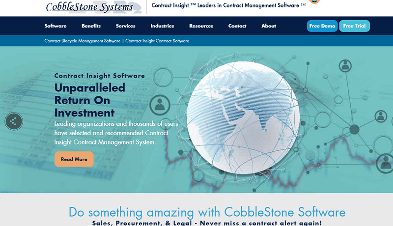 Cobblestone Contract Insight Software Review