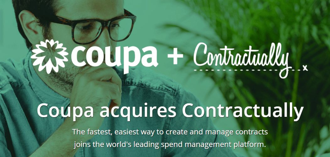 Contractually contract management software